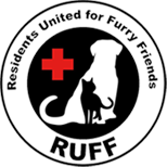 Residents United for Furry Friends (RUFF), Logo
